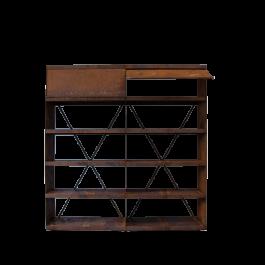 OFYR Wood Storage Corten 200