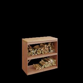 Wood Storage Corten Dressoir